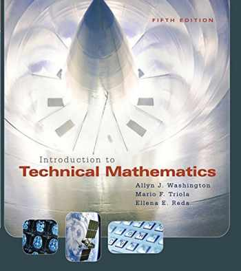 9780321374172-0321374177-Introduction to Technical Mathematics (5th Edition)