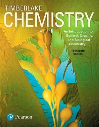 9780134416793-0134416791-Chemistry: An Introduction to General, Organic, and Biological Chemistry Plus Mastering Chemistry with Pearson eText -- Access Card Package (13th Edition)
