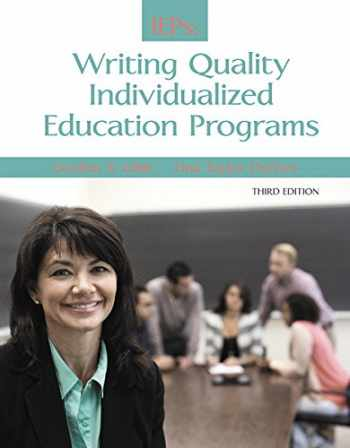 9780133949520-0133949524-IEPs: Writing Quality Individualized Education Programs (3rd Edition)