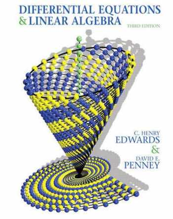 9780136054252-0136054250-Differential Equations and Linear Algebra (3rd Edition)