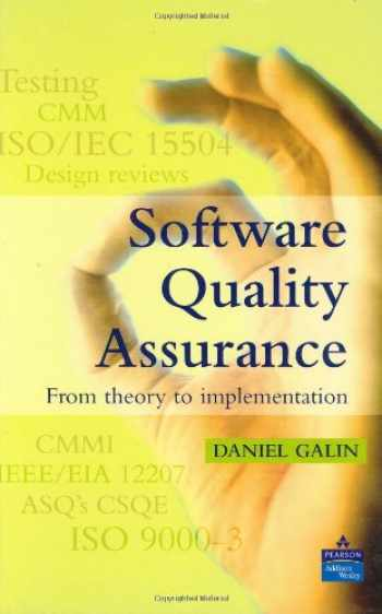 Sell Buy Or Rent Software Quality Assurance From Theory