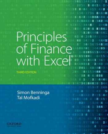 9780190296384-0190296380-PRINCIPLES OF FINANCE WITH MICROSOFT EXCEL (W/CD ONLY)