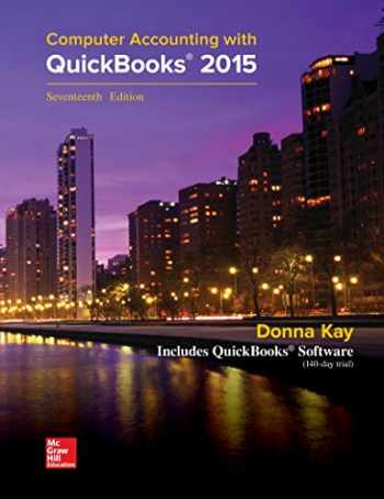 9781259620720-1259620727-MP Computer Accounting with QuickBooks 2015 with Student Resource CD-ROM