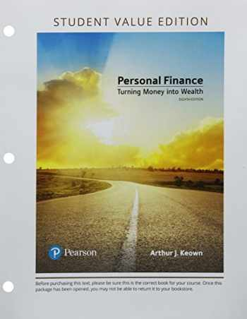 9780134830216-0134830210-Personal Finance, Student Value Edition Plus MyLab Finance with Pearson eText -- Access Card Package (8th Edition) (The Pearson Series in Finance)
