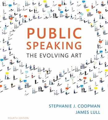 Public Speaking: The Evolving Art (with MindTapTM Speech, 1 term (6 months) Printed Access Card)