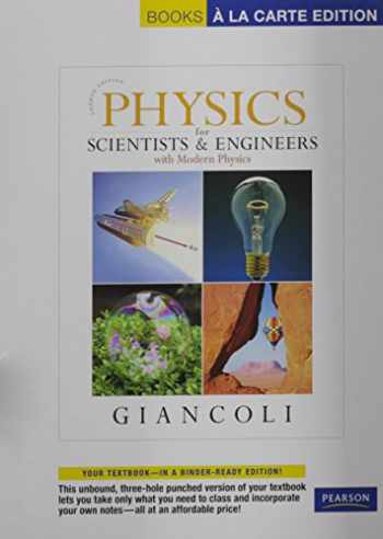 9780321712592-0321712595-Physics for Scientists & Engineers with Modern Physics, Books a la Carte Plus MasteringPhysics (4th Edition)