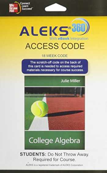 9780077841447-0077841441-ALEKS 360 Access Card (18 weeks) for College Algebra