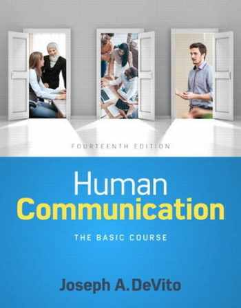 Human Communication: The Basic Course
