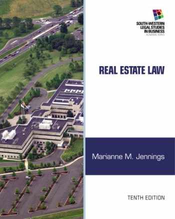 9781133586555-1133586554-Real Estate Law (South-Western Legal Studies in Business Academic)