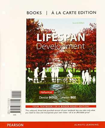9780133810042-0133810046-Lifespan Development, Books a la Carte plus NEW MyPsychLab with eText -- Access Card Package (7th Edition)