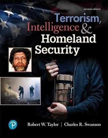 9780134818146-0134818148-Terrorism, Intelligence and Homeland Security (2nd Edition) (What's New in Criminal Justice)