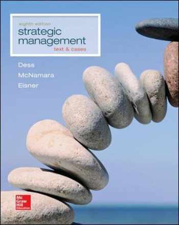 9781259278211-1259278212-Strategic Management: Text and Cases