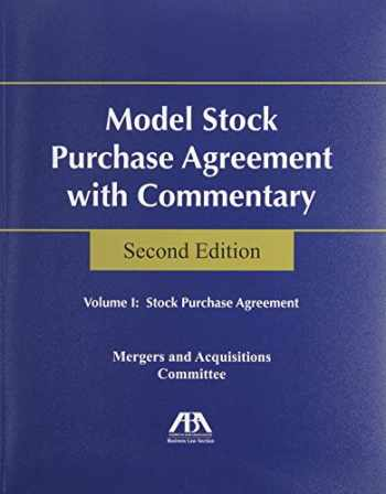 9781604429985-1604429984-Model Stock Purchase Agreement With Commentary :2 Volume set