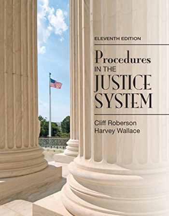 9780133591170-0133591174-Procedures in the Justice System (11th Edition)