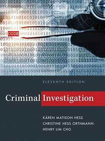 9781285862613-1285862619-Criminal Investigation
