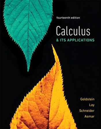 9780134768687-013476868X-Calculus & Its Applications plus MyLab Math with Pearson eText -- 24-Month Access Card Package (14th Edition)