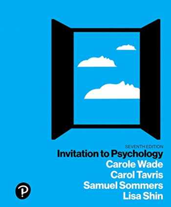 9780134550107-0134550102-Invitation to Psychology
