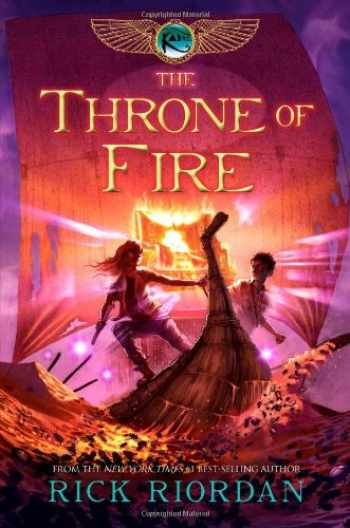 9781423140566-1423140567-The Throne of Fire (The Kane Chronicles, Book 2)