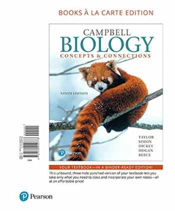 9780134442778-0134442776-Campbell Biology: Concepts & Connections, Books a la Carte Edition (9th Edition)