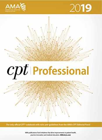 9781622027521-1622027523-CPT 2019 (CPT / Current Procedural Terminology (Professional Edition))