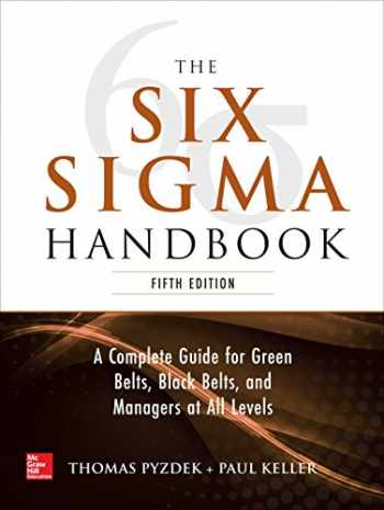 9781260121827-1260121828-The Six Sigma Handbook, 5E