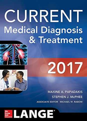 9781259585111-1259585115-CURRENT Medical Diagnosis and Treatment 2017 (Lange)