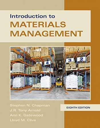 9780134156323-0134156323-Introduction to Materials Management (8th Edition)