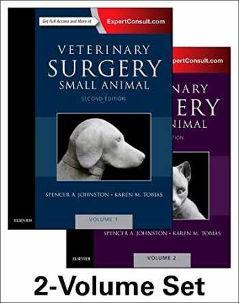 9780323320658-0323320651-Veterinary Surgery: Small Animal Expert Consult: 2-Volume Set