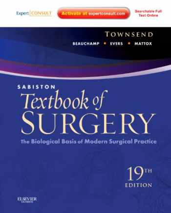 9781437715606-1437715605-Sabiston Textbook of Surgery: The Biological Basis of Modern Surgical Practice, 19th Edition