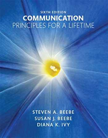 9780133753820-0133753824-Communication: Principles for a Lifetime (6th Edition)