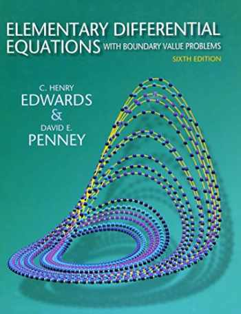 9780136006138-0136006132-Elementary Differential Equations with Boundary Value Problems (6th Edition)