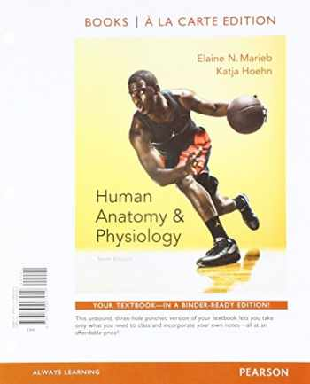 9780134191294-0134191293-Human Anatomy & Physiology, Books a la Carte Edition and Modified MasteringA&P with Pearson eText & ValuePack Access Card (10th Edition)