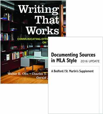9781319086794-1319086799-Writing That Works 12e & Documenting Sources in MLA Style: 2016 Update