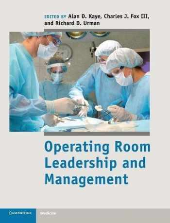 9781107017535-110701753X-Operating Room Leadership and Management (Cambridge Medicine (Hardcover))