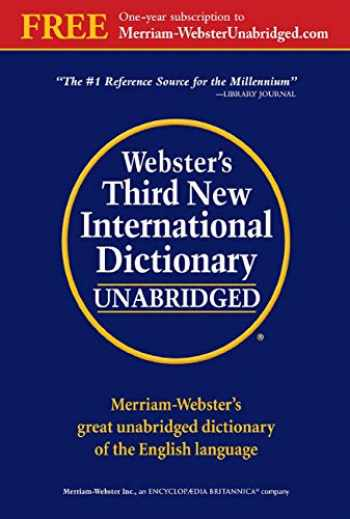 9780877792017-0877792011-Webster's Third New International Dictionary of the English Language