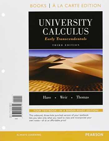 9780133933338-0133933334-University Calculus: Early Transcendentals, Books a la Carte Plus MyLab Math/MyLab Statistics Student Access Kit (3rd Edition)