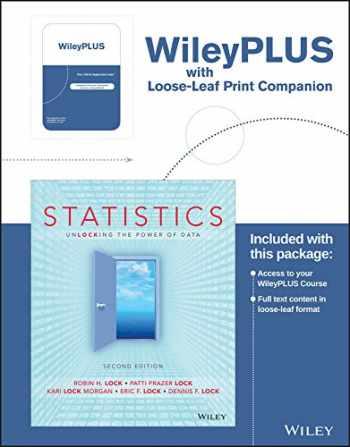 9781119309499-1119309492-Statistics: Unlocking the Power of Data, 2nd Edition WileyPLUS Registration Card + Loose-leaf Print Companion