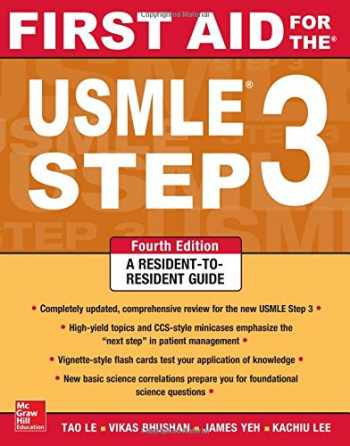 9780071825962-0071825967-First Aid for the USMLE Step 3, Fourth Edition