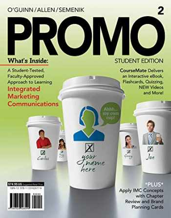 9781133626176-1133626173-PROMO2 (with CourseMate, 1 term (6 months) Printed Access Card) (Engaging 4LTR Press Titles in Marketing)