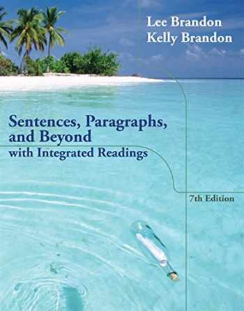 9781133591924-1133591922-Sentences, Paragraphs, and Beyond: With Integrated Readings