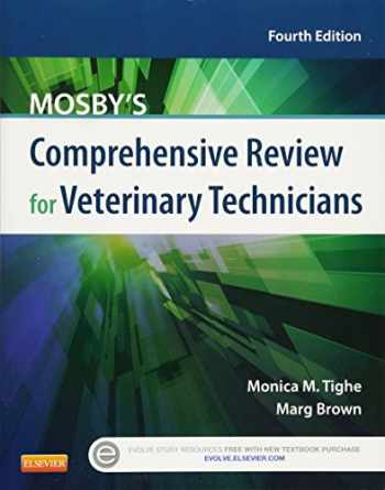 9780323171380-0323171389-Mosby's Comprehensive Review for Veterinary Technicians