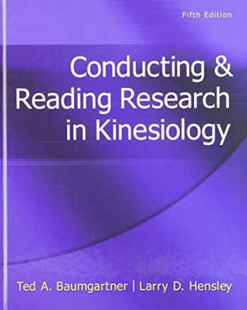 9780078022555-007802255X-Conducting & Reading Research In Kinesiology