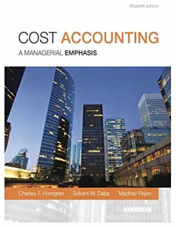 9780133428704-0133428702-Cost Accounting (15th Edition)