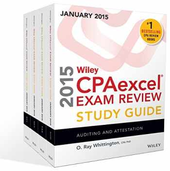 9781118917626-1118917626-Wiley CPAexcel Exam Review 2015 Study Guide January: Set (Wiley Cpa Exam Review)