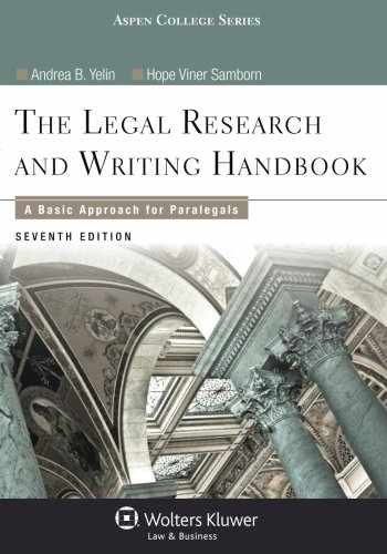 9781454840817-1454840811-Legal Research and Writing Handbook: A Basic Approach for Paralegals (Aspen College)