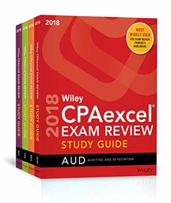 9781119481034-1119481031-Wiley CPAexcel Exam Review 2018 Study Guide: Complete Set