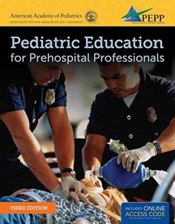 9781449670436-1449670431-Pediatric Education for Prehospital Professionals (PEPP)
