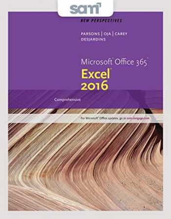 9781337216616-1337216615-Bundle: New Perspectives Microsoft Office 365 & Excel 2016: Comprehensive, Loose-leaf Version + SAM 365 & 2016 Assessments, Trainings, and Projects with 1 MindTap Reader Multi-Term Printed Access Card