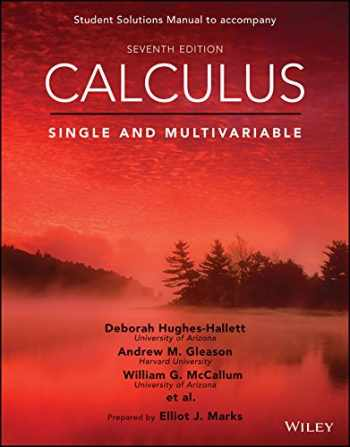 9781119138549-111913854X-Calculus: Single and Multivariable, 7e Student Solutions Manual