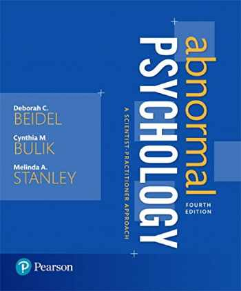 9780134238944-013423894X-Abnormal Psychology: A Scientist-Practitioner Approach (4th Edition)